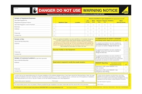 Gas Safety Shop Certificate Pads